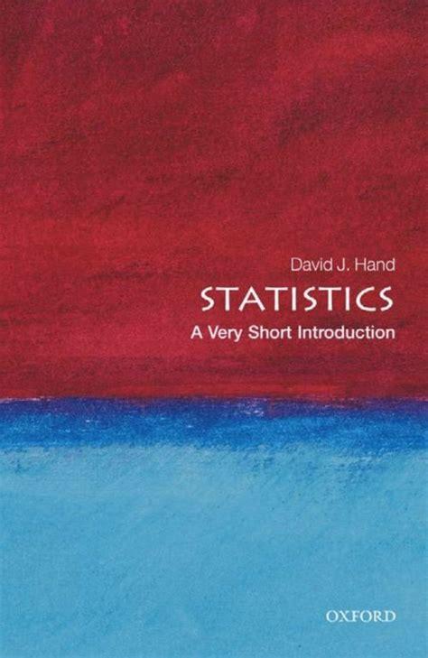 Statistics A Very Short Introduction H And David J (ePUB/PDF) Free