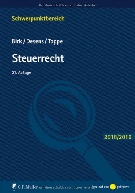 Steuerrecht Schwerpunktbereich (ePUB/PDF) Free
