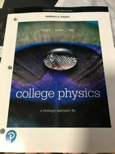 Student Workbook For College Physics A Strategic Approach