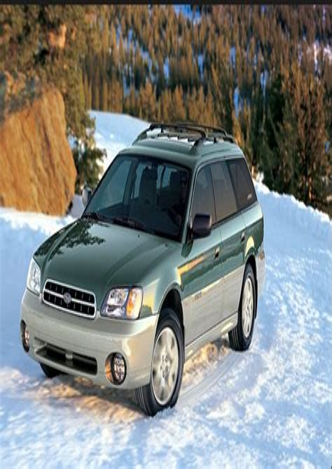Subaru Legacy Outback Service Repair Manual 1998 2004 (ePUB/PDF) Free