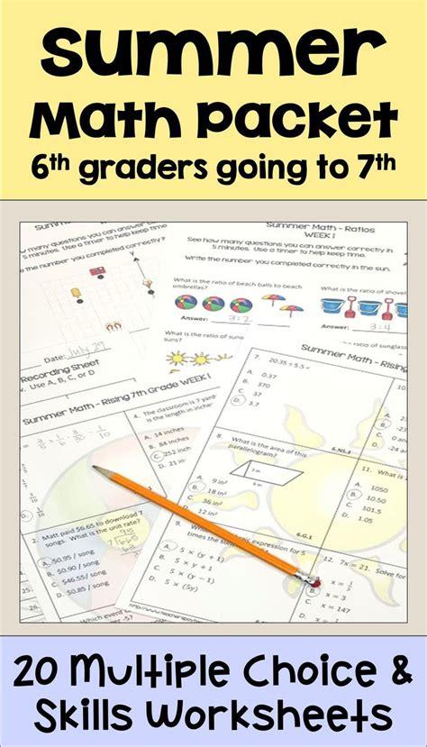 Summer Math 6th To 7th Grade (ePUB/PDF)