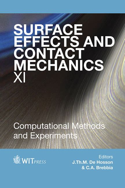 Miraculous Surface Effects And Contact Mechanics X Brebbia C A De Hosson J T M Wiring 101 Ferenstreekradiomeanderfmnl