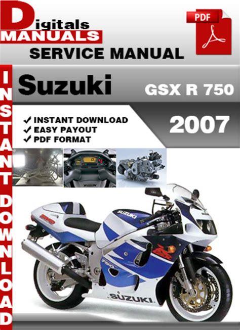 suzuki gsxr750 service repair pdf manual 1985 1992