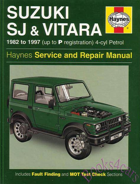 Suzuki Samurai Service Repair Workshop Manual 1987 Onwards (ePUB/PDF)