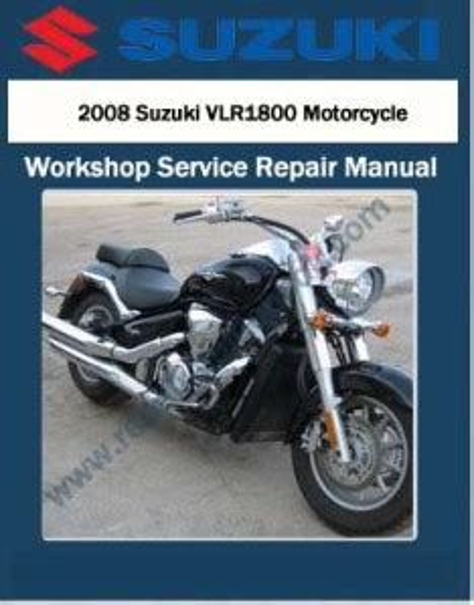 Suzuki Vlr1800 Workshop Manual 2008 Onwards (ePUB/PDF) Free