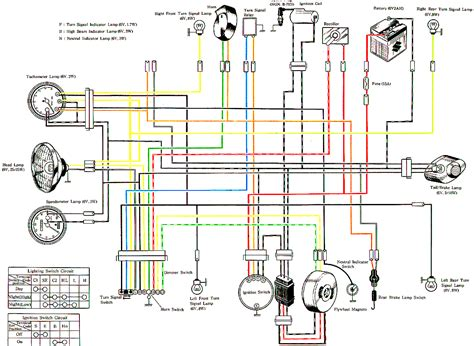 magneto wiring diagram images suzuki motorcycle wiring diagrams classic cycles