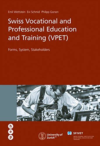 Swiss Vocational And Professional Education And Training Vpet Forms System Stakeholders English Edition