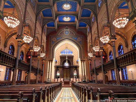 Synagogues Of Manhattan New York