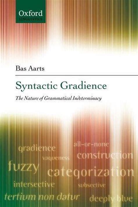 Syntactic Gradience Aarts Bas (ePUB/PDF)