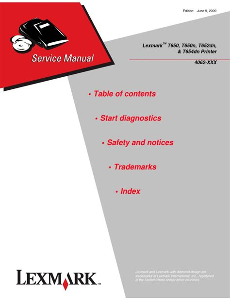 t654 service manual