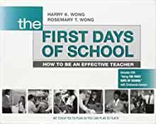 THE First Days Of School How To Be An Effective Teacher Book DVD