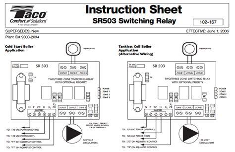 Taco Sr503 4 Wiring Diagram (ePUB/PDF)