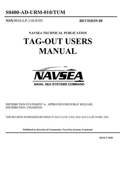 Tagout Users Manual Navy (ePUB/PDF)