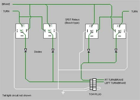 tail light converter wiring diagrams for trailer