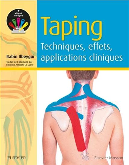 Taping Techniques Effets Applications Cliniques