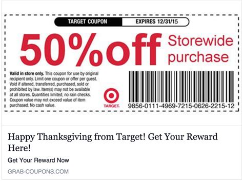 Target Coupon Not Working