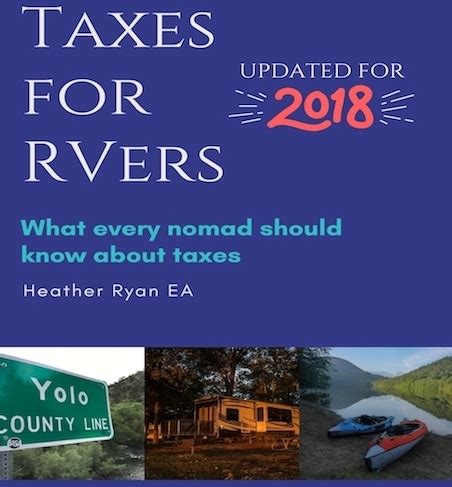 Taxes For RV Owners What Every Nomad Should Know About Taxes