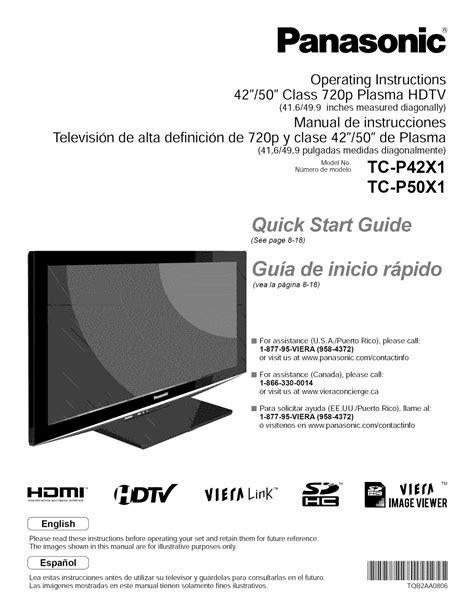 Tc P42x1 Manual (ePUB/PDF)