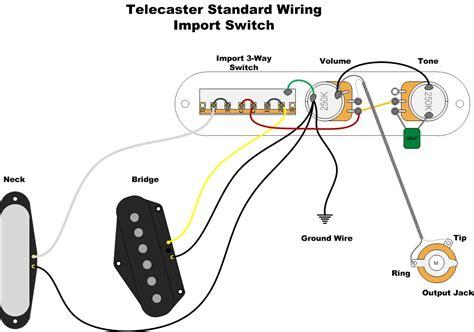 Telecaster Wiring Diagram Import Switch (ePUB/PDF) Free