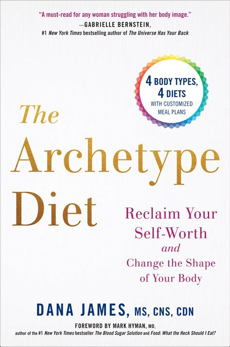 The Archetype Diet Reclaim Your Selfworth And Change The Shape Of Your Body