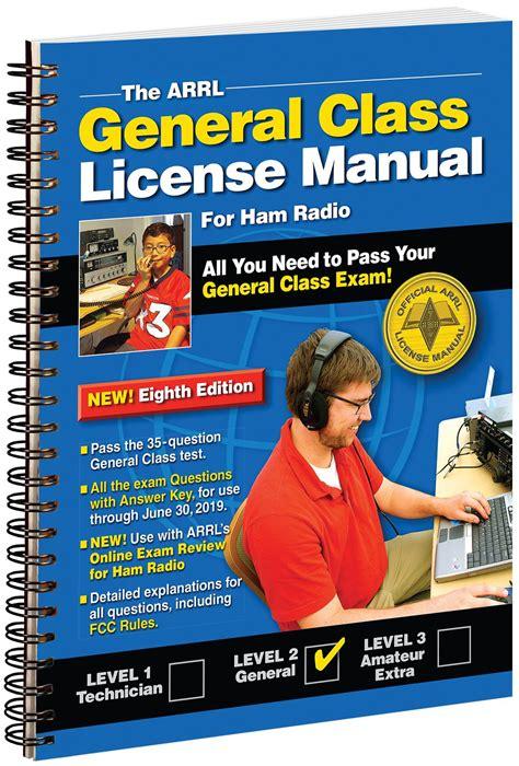 The Arrl General Class License Manual Spiral Bound (ePUB/PDF)