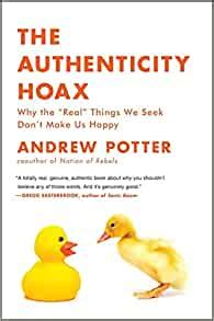 The Authenticity Hoax Potter Andrew