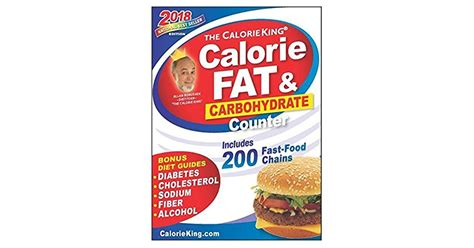 The Calorieking Calorie Fat Carbohydrate Counter 2013 Larger Print Edition Calorieking Calorie Fat Carbohydrate Counter Larger Print Edition