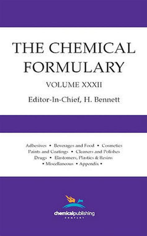 The Chemical Formulary Volume 32