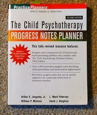 The Child Psychotherapy Progress Notes Planner PracticePlanners