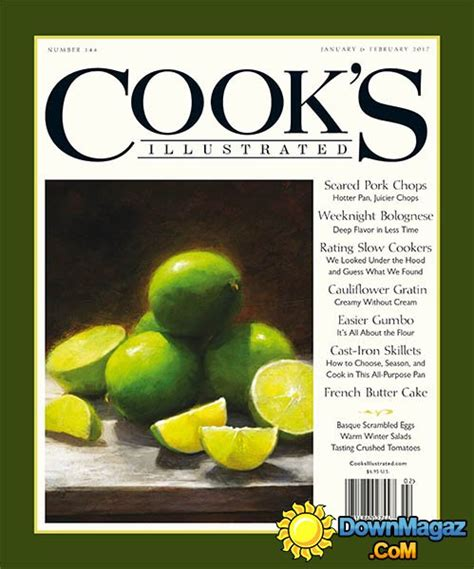 The Complete Cooks Illustrated Magazine 2017
