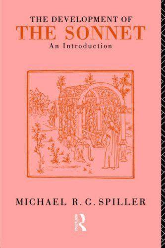 The Development Of The Sonnet R G Spiller (ePUB/PDF) Free