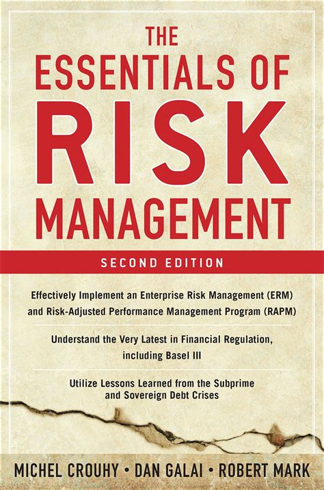 The Essentials Of Risk Management Second Edition GNFxijiq
