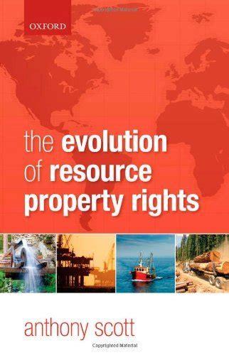 The Evolution Of Resource Property Rights Scott Anthony (ePUB/PDF) Free