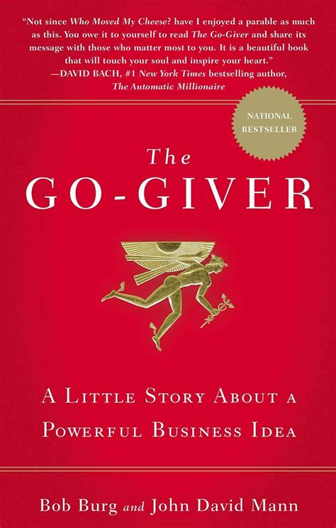 The GoGiver A Little Story About A Powerful Business Idea