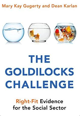 The Goldilocks Challenge RightFit Evidence For The Social Sector