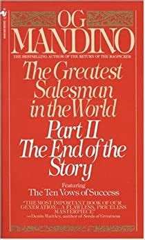 The Greatest Salesman In The World Part 2 The End Of The Story