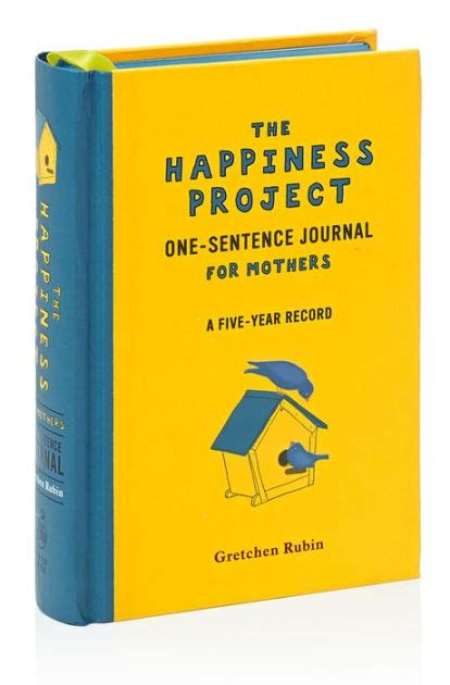 The Happiness Project OneSentence Journal For Mothers
