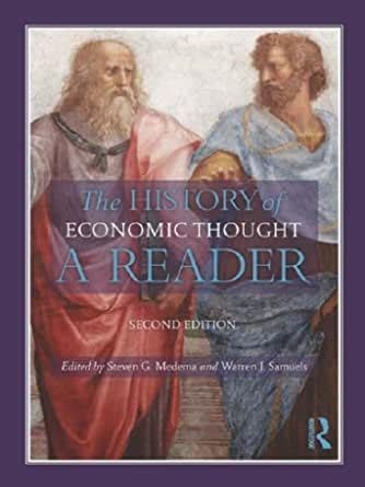 The History Of Economic Thought A Reader Second Edition