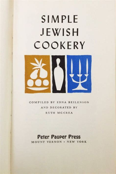 The Home Book Of Jewish Cookery