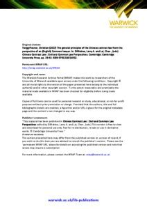 The Law Of Contract 16701870 Cambridge Studies In English Legal History