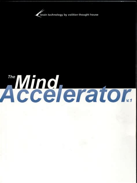 The Mind Accelerator Your Lexicon For Success