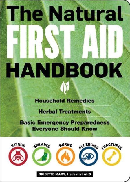 The Natural First Aid Handbook Household Remedies Herbal Treatments And Basic Emergency Preparedness Everyone Should Know