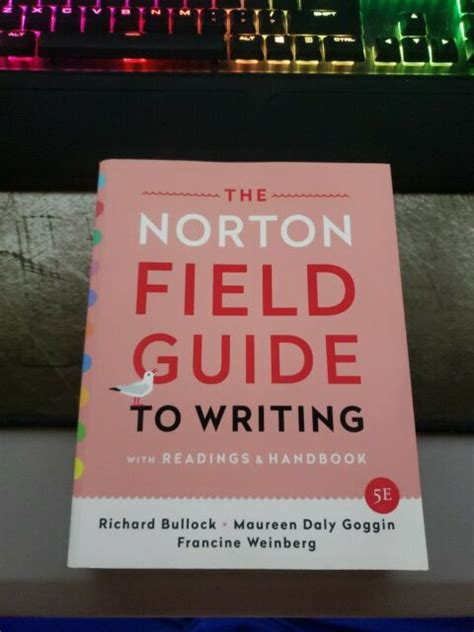 The Norton Field Guide To Writing With Readings Fifth Edition