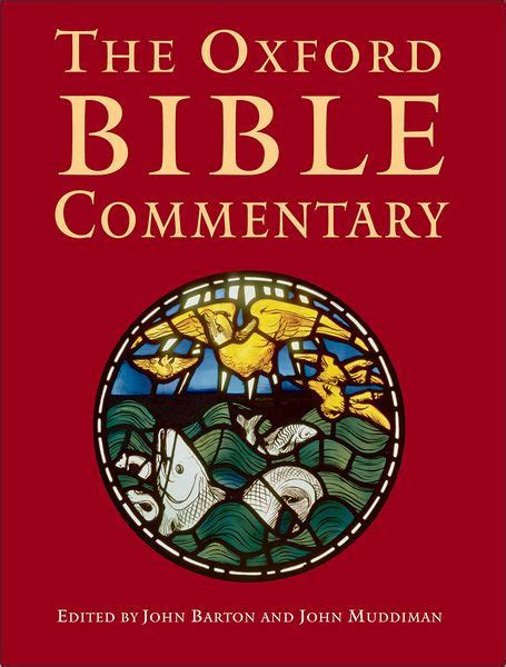 The Oxford Bible Commentary (ePUB/PDF) Free