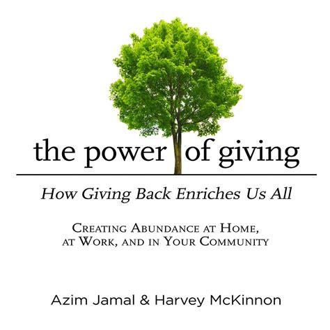 The Power Of Giving Jamal Azim Mckinnon Harvey (ePUB/PDF)