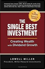 The Single Best Investment Creating Wealth With Dividend Growth
