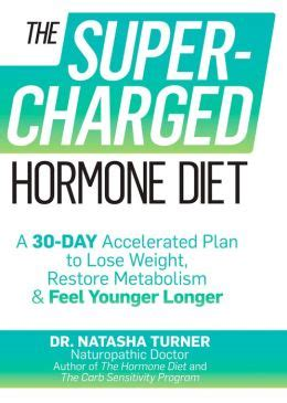 The Supercharged Hormone Diet A 30day Accelerated Plan To Lose Weight Restore Metabolism Feel Younger Longer