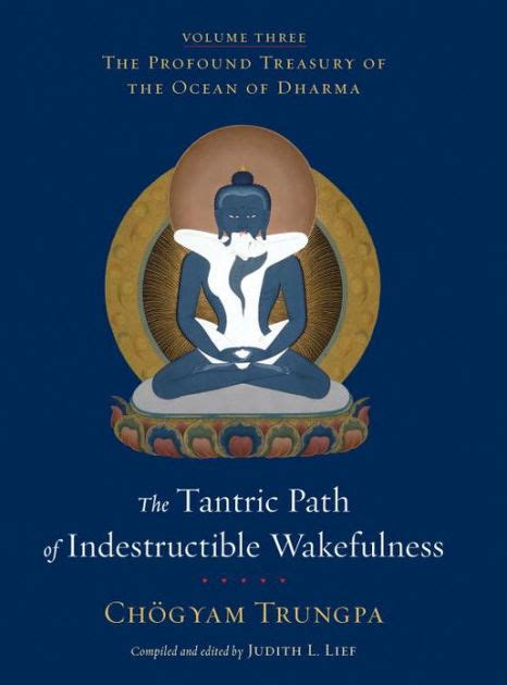The Tantric Path Of Indestructible Wakefulness The Profound Treasury Of The Ocean Of Dharma Volume Three