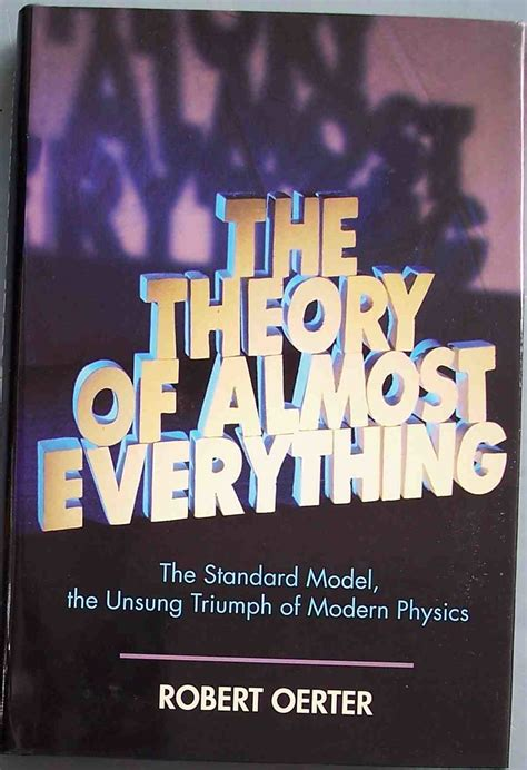 The Theory Of Almost Everything Oerter Robert (ePUB/PDF)