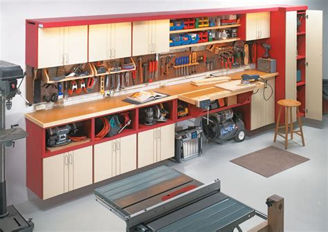 The Ultimate One Wall Workshop Cabinet Diy Complete Ebook Plan (ePUB